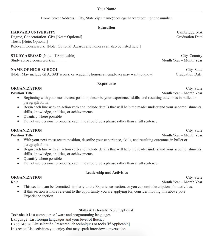 Inilah Perbedaa Antara Resume Cover Letter Dan Curriculum Vitae